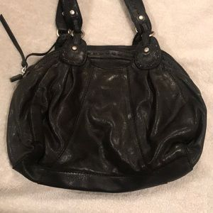 Lucky Brand Boho VTG Style Italian Leather Purse